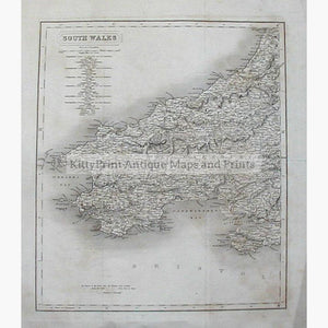 Population and Parliamentary seats in South Wales c.1850 Maps KittyPrint 1800s Population Statistics Wales