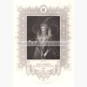 Queen Elizabeth 1853 Prints