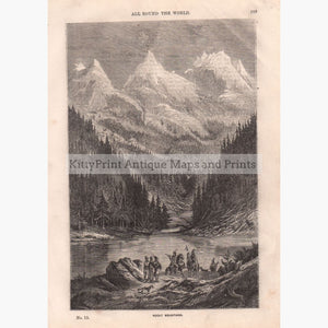 Rocky Mountains C.!860 Prints