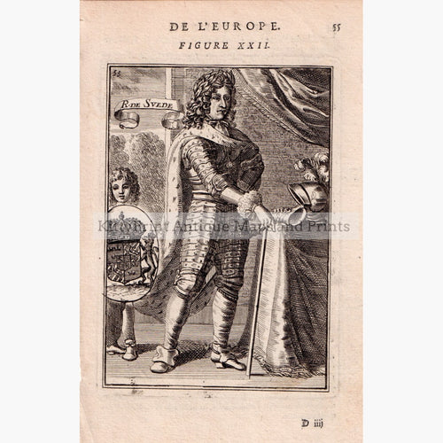 Roi De Svede 1685 Kittyprint Prints