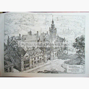 Royal Academy Birds Eye View 1881 Prints