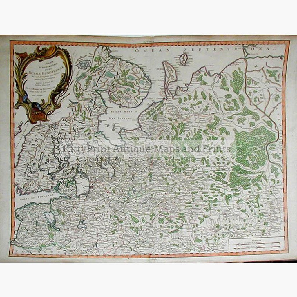 Russia in Europe 1753 Maps KittyPrint 1700s Russia