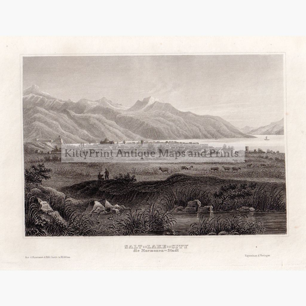 Salt-Lake City 1859 Prints