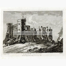 Set of 3: Castles in Wales by P. Sandby Prints KittyPrint 1700s Castles & Historical Buildings Wales