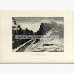 Set Of 4: Captain J Ross The Second Arctic Expedition 1834 Saumarez River Prints