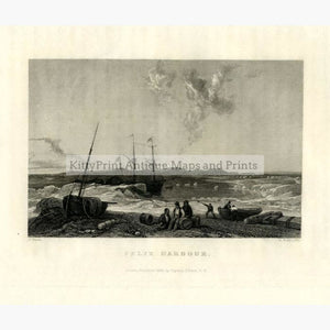 Set Of 4: Captain J Ross The Second Arctic Expedition 1834 Felix Harbour Prints