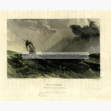 Set Of 4: Captain J Ross The Second Arctic Expedition 1834 Victory Prints
