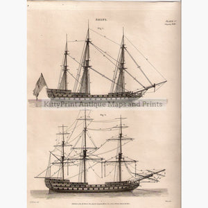 Ships Rigging 1819 Prints