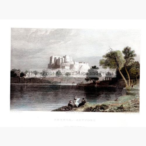 Shuhur Jeypore 1833 Prints KittyPrint 1800s Castles & Historical Buildings India & East Indies