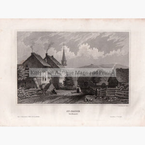 St.jacob Bei Basel 1859 Prints