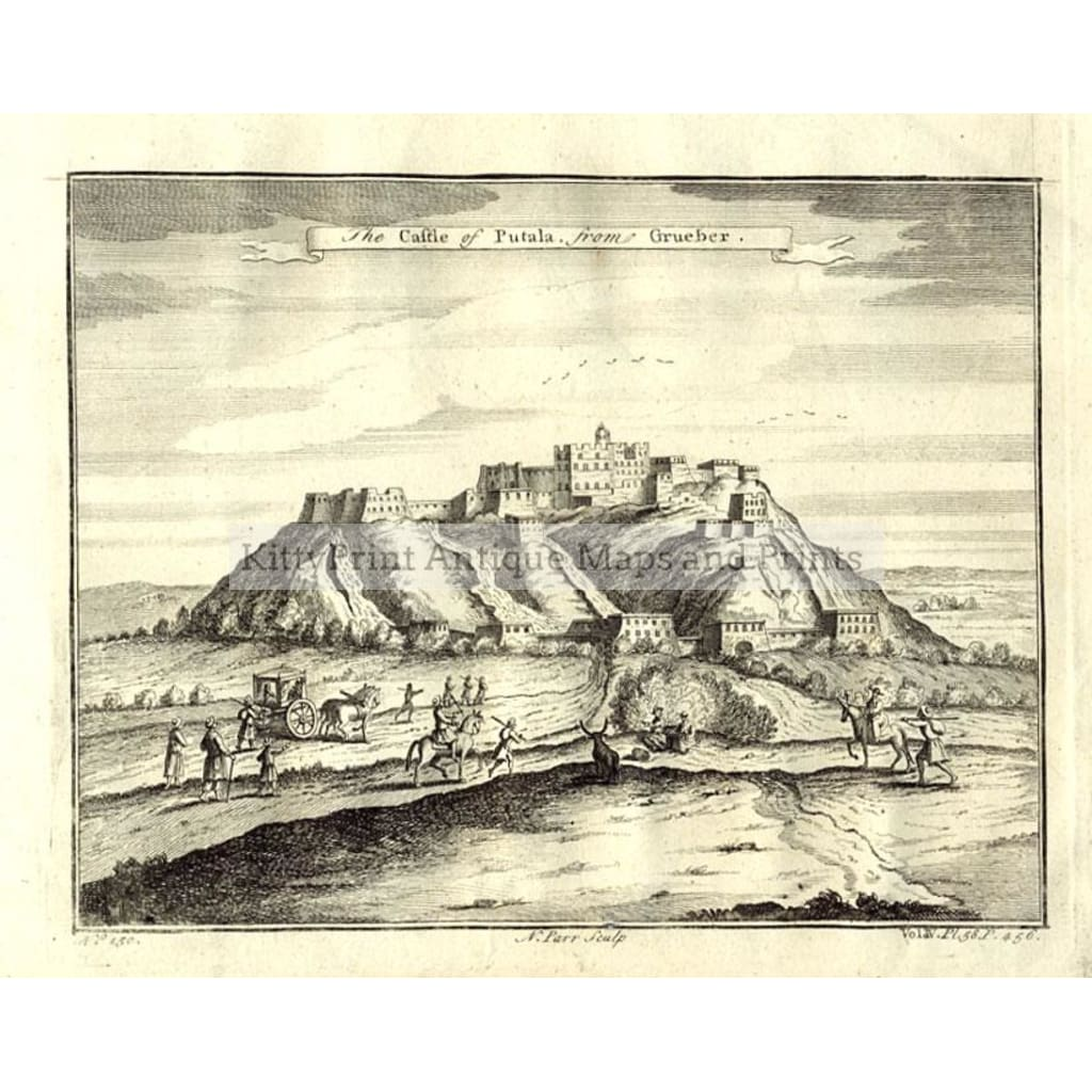the-castle-of-putala-1747-prints-kittyprint-1700s-castles--historical-buildings-india--east-indies
