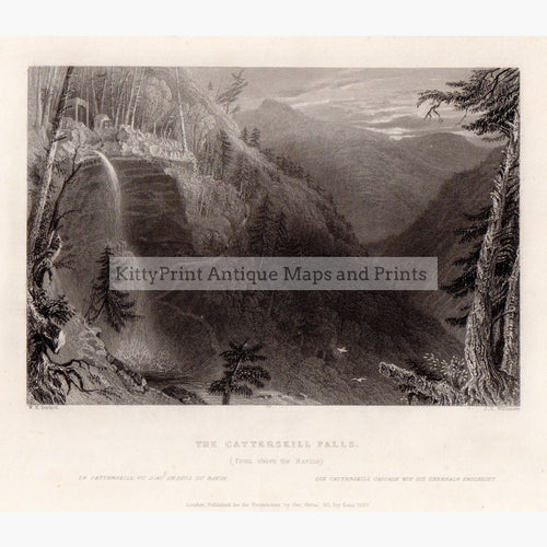 The Catterskill Falls 1839 Prints