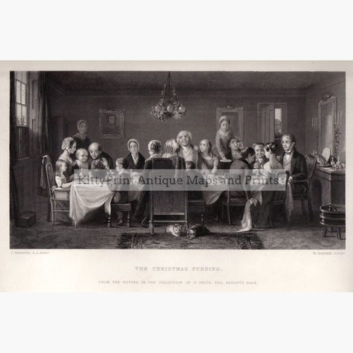 The Christmas Pudding C.1840 Kittyprint Prints