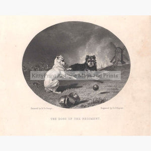 The Dogs Of The Regiment 1874 Prints