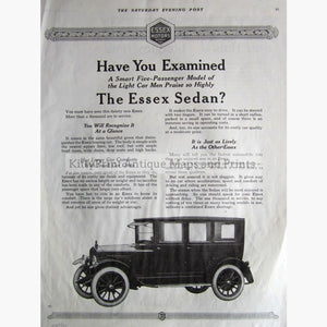 The Essex Sedan 1919 Prints