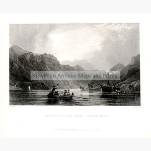 The head of Loch Lomond looking South 1836 Prints KittyPrint 1800s Genre Scenes Scotland Seascapes Ports & Harbours