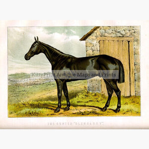 The Hunter Glengarry c.1880 Prints KittyPrint 1800s Horses