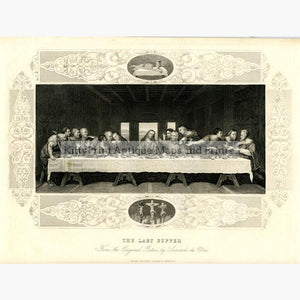 The Last Supper c.1880 Prints KittyPrint 1800s Religion