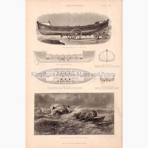 The Life Boat C.1860 Prints