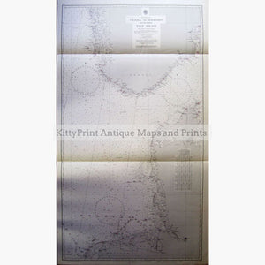 The North Sea,texel To Bergen 1961 Maps
