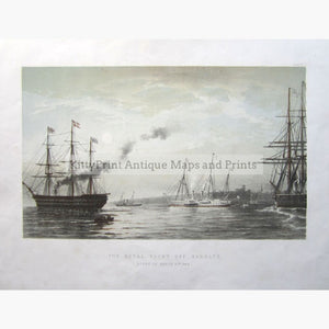 The Royal Yacht Off Margate C.1870 Prints