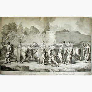 The Sacrifice c.1700. Prints KittyPrint 1700s Religious