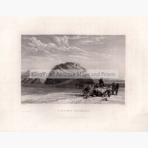 Tilsons Islands 1834 Prints