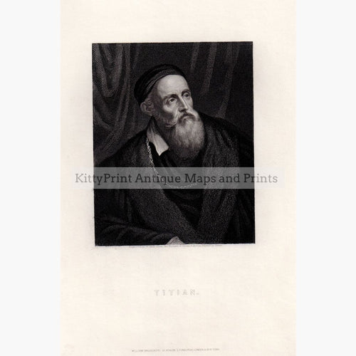 Titian Painter C.1860 Prints