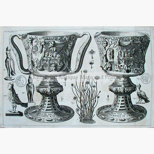 Vases. Cup of the Ptolemies 1750 Prints KittyPrint 1700s Architecture & Design Civilizations & Empires