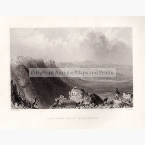 View From Mount Washington 1838 Prints