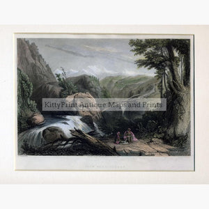 View near Deobun 1840 Prints KittyPrint 1800s India & South Asia Landscapes