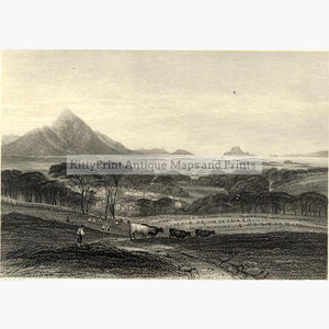 Westport c.1850 Prints KittyPrint 1800s Canada & United States Landscapes