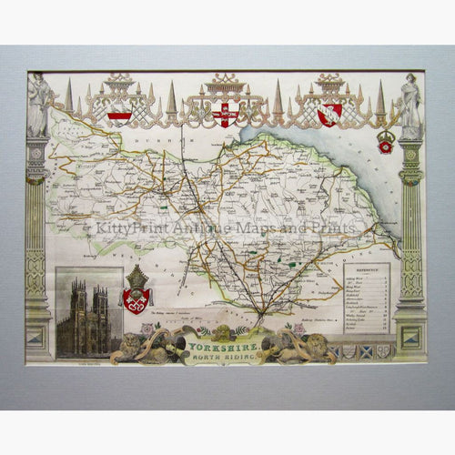 Yorkshire North Riding 1840 Maps