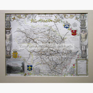 Yorkshire West Riding 1840 Maps