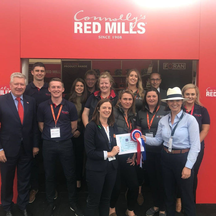 Success all around for #redmills at the 2018 Dublin Horse Show