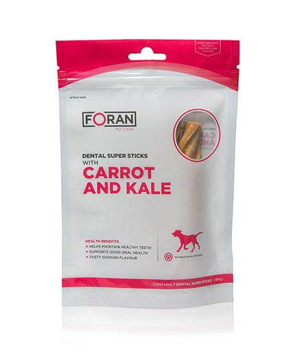 Foran Pet Care Dental Super Sticks | Carrot and Kale - RedMillsStore.ie