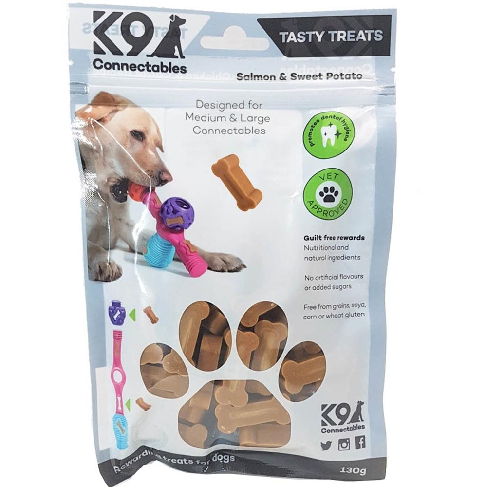 K9 Connectables Tasty Treats Salmon-Sweet Potato M/L
