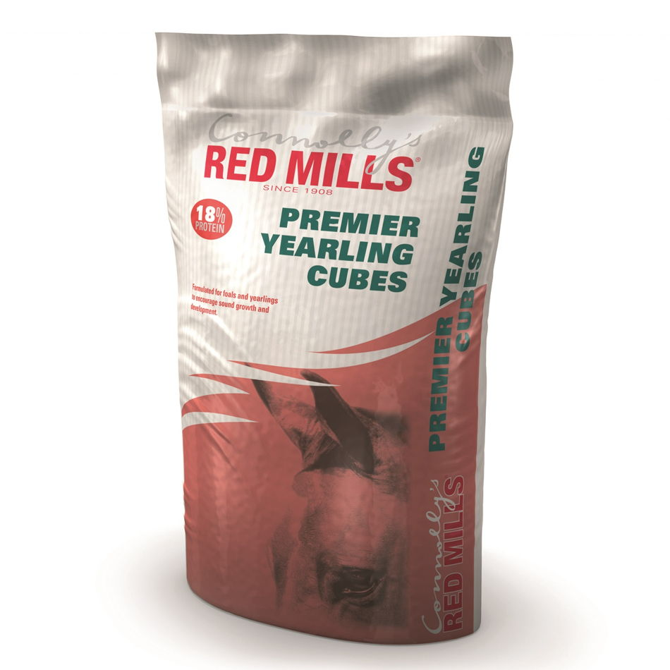 RED MILLS 18% Premier Yearling Cubes