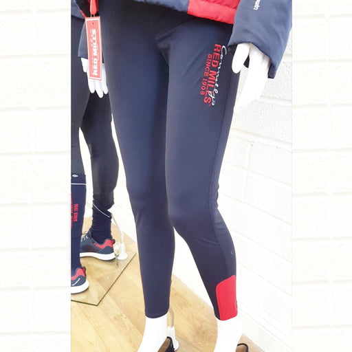 RED MILLS womens riding tights in navy - RedMillsStore.ie