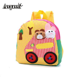 Children Kindergarden Backpacks 3D Cute Animal Design Backpack Cartoon Mini Schoolbags High Quality  Rucksack