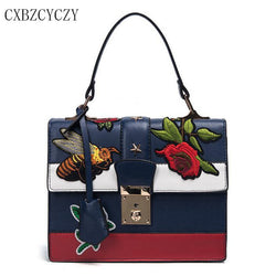 Women Luxury Embroidery Handbags