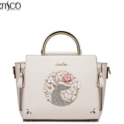 Luxury Embroidery Women Totes Handbag