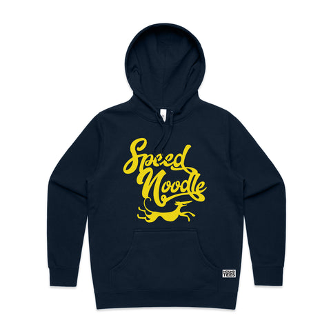 Speed Noodle Womens Fit Hoodee Navy