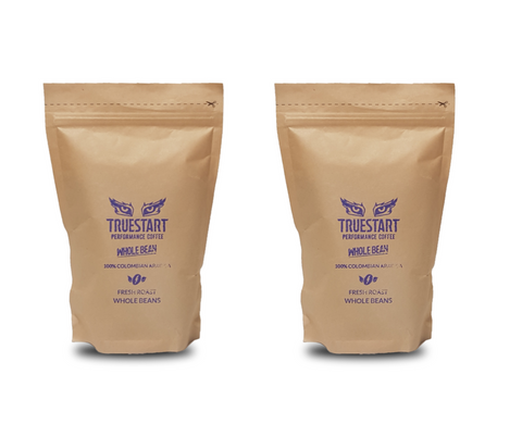 SPECIAL: 2 x bags of TrueStart Whole Bean Coffee (200g)