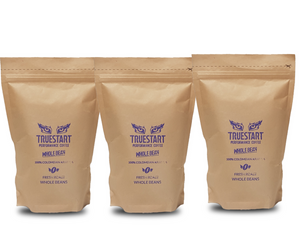 SPECIAL: 3 x bags of TrueStart Whole Bean Coffee (200g)