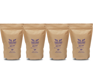 SPECIAL: 4 x bags of TrueStart Whole Bean Coffee (200g)