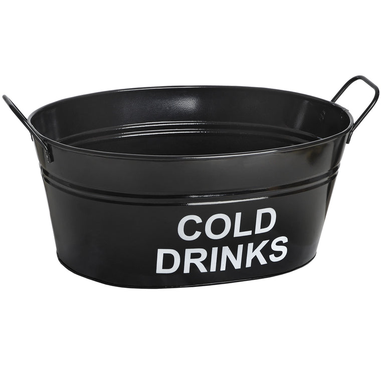 Enamel Metal Cold Drinks Bath