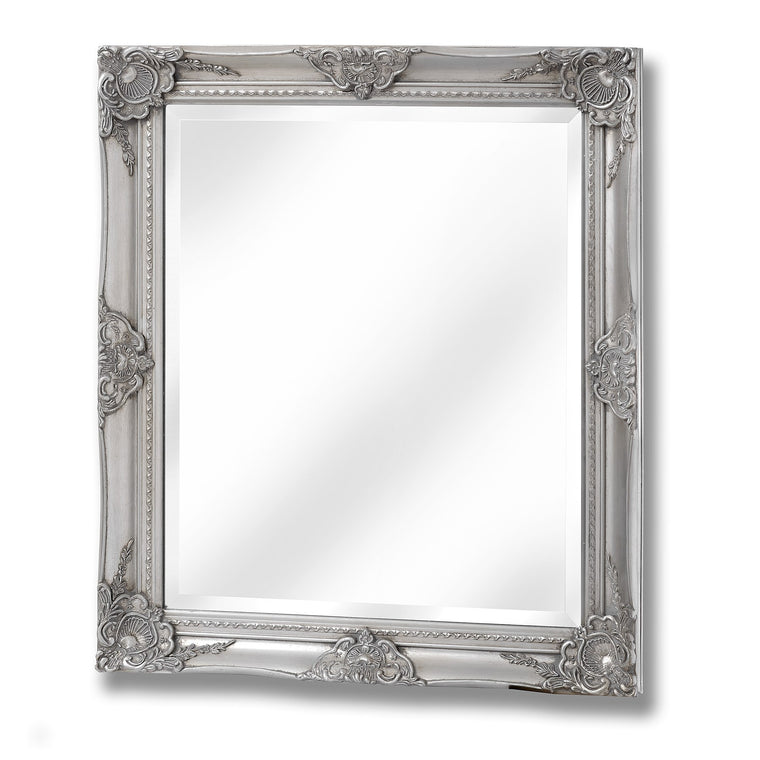 Baroque Antique Silver Mirror (PRE-ORDER)