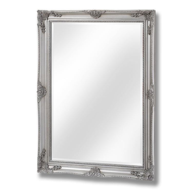 Antique Silver Baroque Style Mirror (PRE-ORDER)