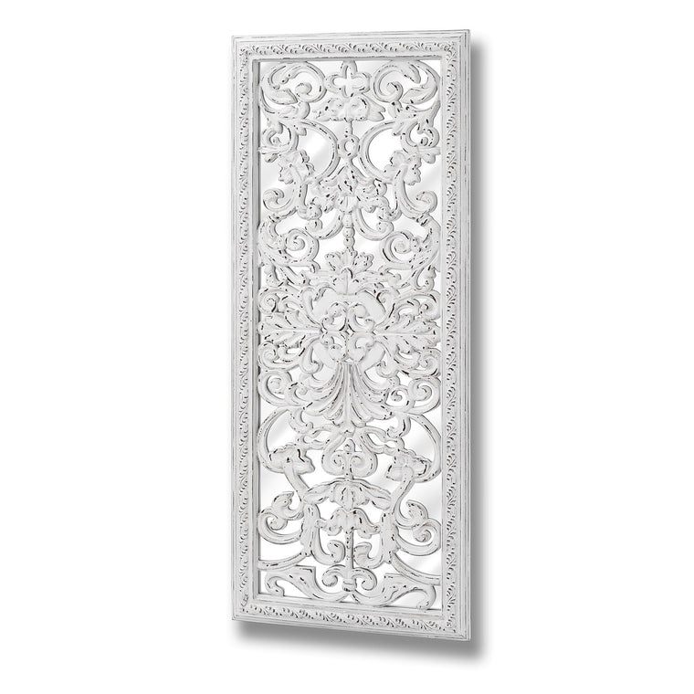 Baroque Mirror With Ornate Front Detail (PRE-ORDER)